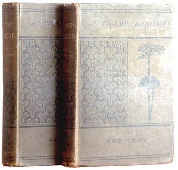 Mark Twain A Tramp Abroad In Original Cloth 1880