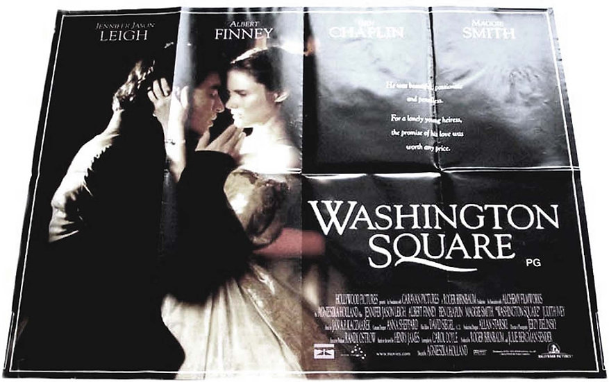 Albert Finney & Maggie Smith Washington Square British Quad Film Poster 1998