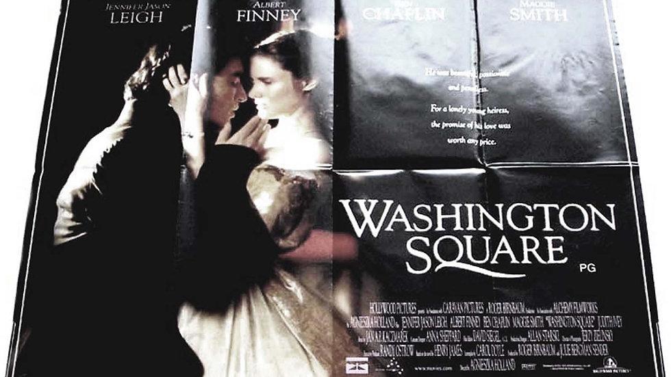 Albert Finney & Maggie Smith Washington Square British Quad Film Poster 1998