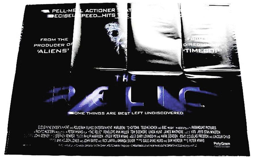 Penelope Ann Miller The Relic British Quad Film Poster 1997