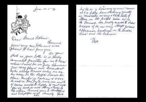 Moe-Howard-Autograph-Letter-Signed-1970-