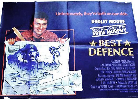 Best Defence British Quad Film Poster 1984