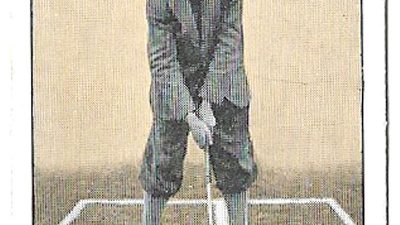 Golf Stroke Series Complete Set of 25 Cards Issued by B. Morris & Sons in 1923