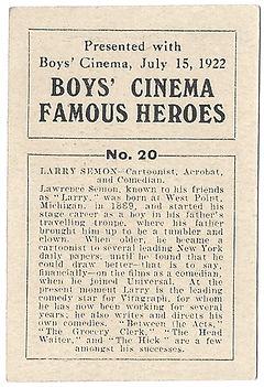Boys-Cinema-Famous-Heroes-Card-No-20-Lar
