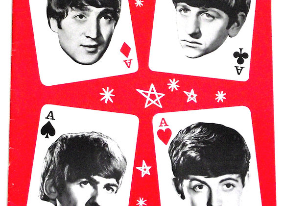 The Beatles Concert Programme for Their 5th British Tour with Mary Wells 1964