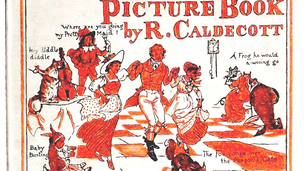 Randolph Caldecott The Hey Diddle Diddle Picture Book circa 1910