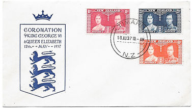 King-George-VI-New-Zealand-Cover-18th-Au