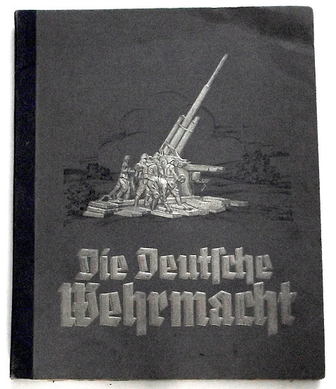 German Preparations for the Second World War 1936 Cigarette Card Album