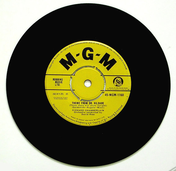 Theme From Dr Kildare Single 45-MGM-1160 1962