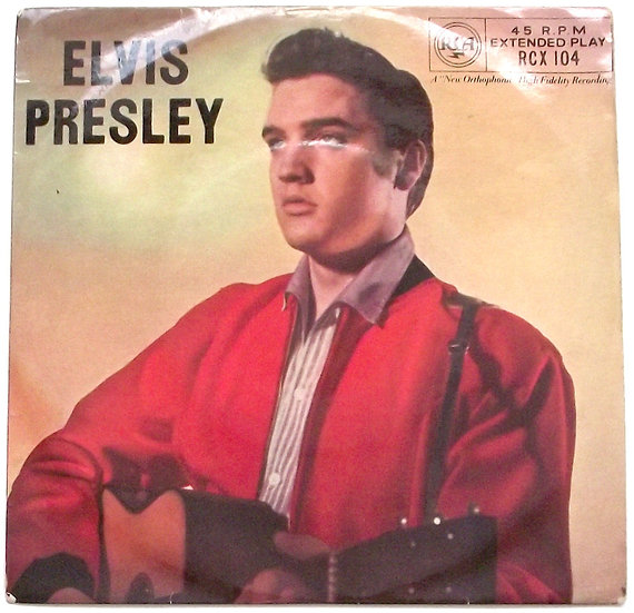 Elvis Presley With The Jordanaires EP 1957