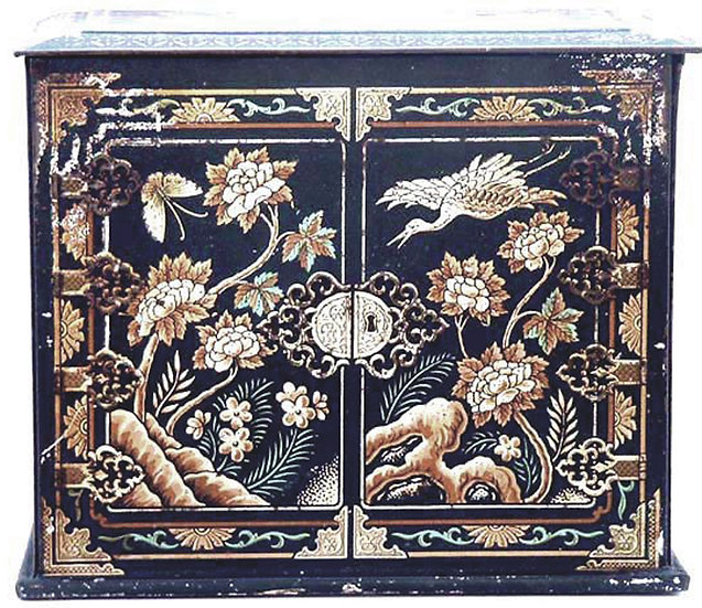 Jacobs Chinese Cabinet Biscuit Tin