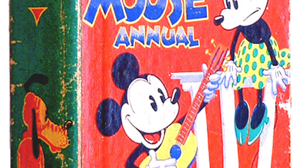 Walt Disney Mickey Mouse Annual 1935