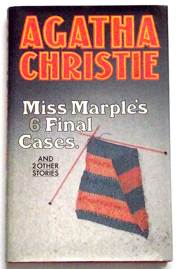 Agatha Christie Miss Marple's 6 Final Cases First Edition Book 1979