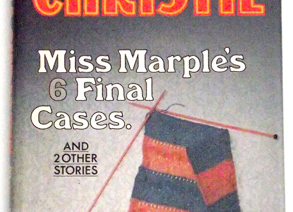 Agatha Christie Miss Marple's 6 Final Cases Used Book 1979