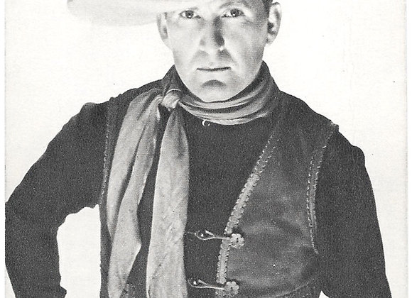Collection of 12 Cowboys and Other Film Star Vintage Postcards