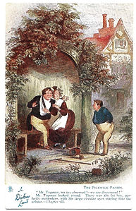 In-Dickens-Land-Pickwick-Papers-Postcard
