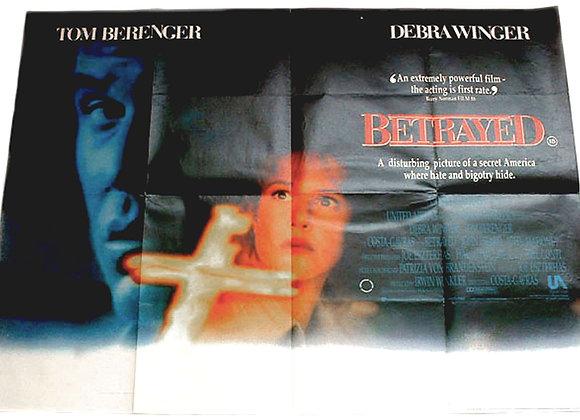 Betrayed Film Poster 1989