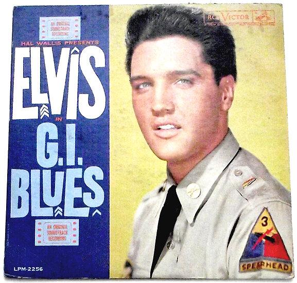 Elvis Presley G.I. Blues US LP Soundtrack 1960
