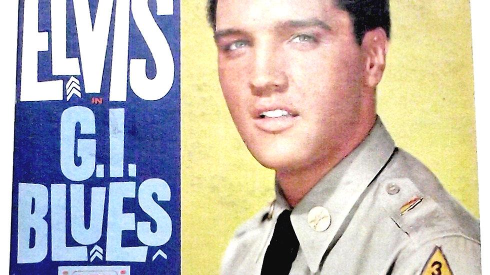 Elvis Presley G.I. Blues LP 1960