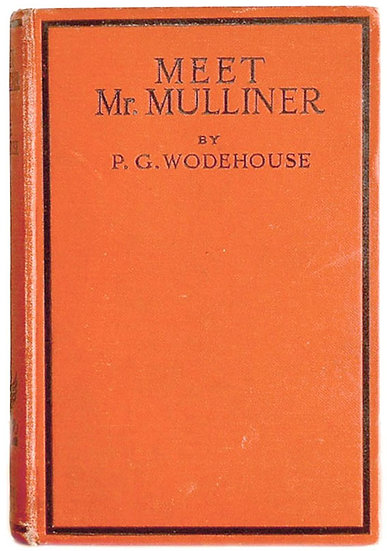 P.G. Wodehouse Meet Mr Mulliner circa 1935 Front Board