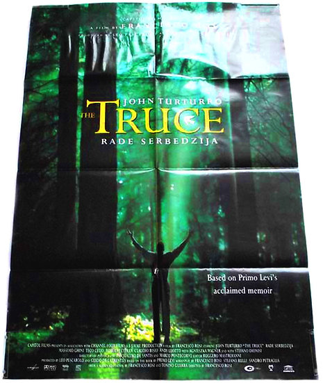 The Truce British Quad Film Poster 1997