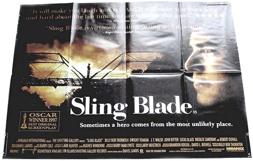Sling Blade British Quad Film Poster 1996