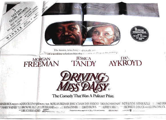Driving Miss Daisy Film Poster 1989