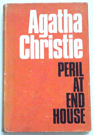 Agatha Christie Peril At End House First Edition Second Impression 1966