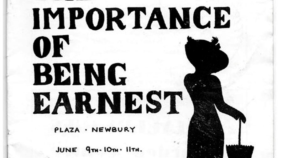 The Importance of Being Earnest Theatre Programme Newbury Dramatic Society 1977