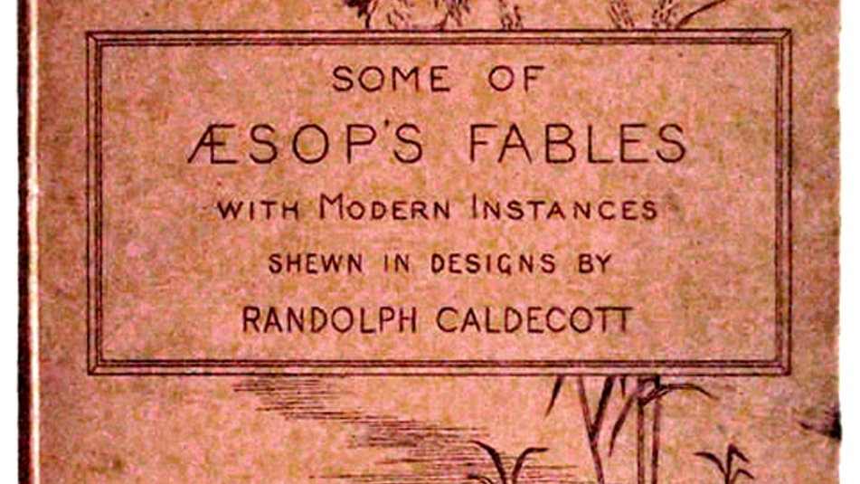 Randolph Caldecott Some of Aesop's Fables First Edition 1883