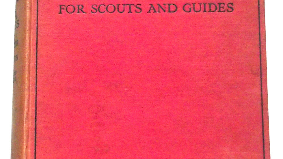 Rudyard Kipling Land and Sea Tales for Scouts and Guides First Edition 1923