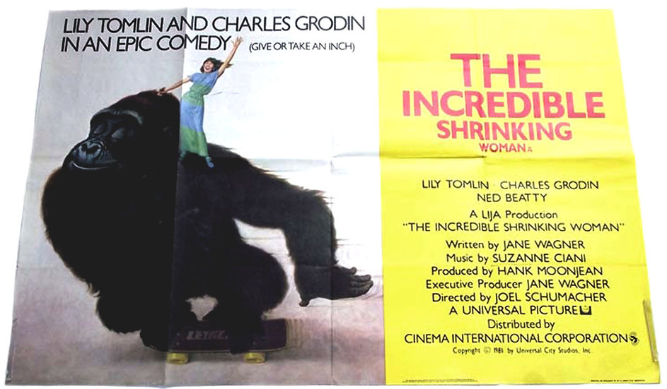 The Incredible Shrinking Woman Film Poster 1981