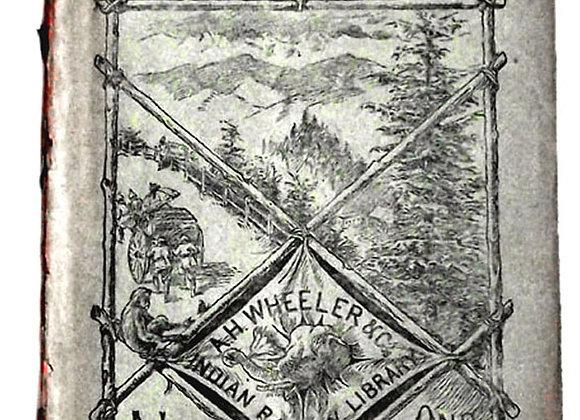 Rudyard Kipling Book Under the Deodars UK First Edition 1888