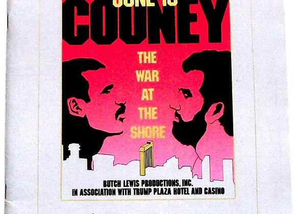 Michael Spinks vs Gerry Cooney U.S. Boxing Programme 1987