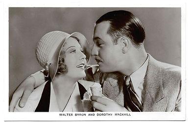 Walter-Byron-and-Dorothy-Mackaill-Film-P