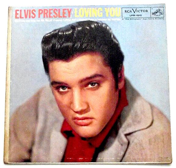 Elvis Presley Loving You Canadian LP 1957