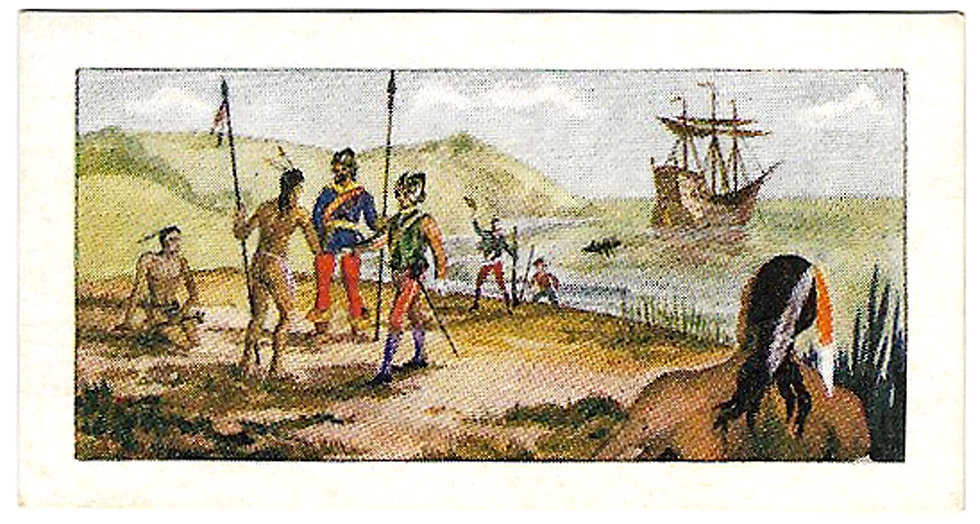 Red Indians Series 1 and Series 2 Complete Set 50 Trade Cards 1957