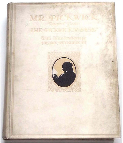 Charles Dickens Mr Pickwick Signed Limited Edition Book 1910