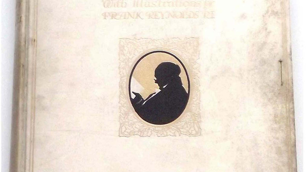 Charles Dickens Mr PickwickSigned Limited Edition Book 1910