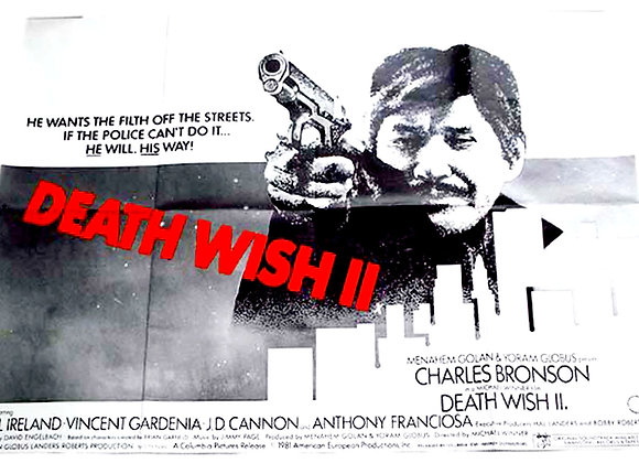 Death Wish 2 Film Poster 1982