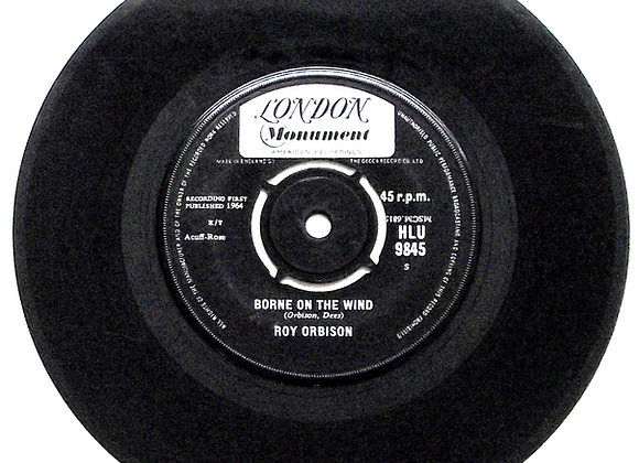 Roy Orbison Borne on the Wind & What'd I Say Single 1964