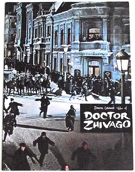 Doctor Zhivago Film Programme 1965