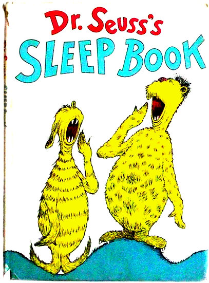Dr Seuss Sleep Book U.S. First Edition 1962 Dust Jacket