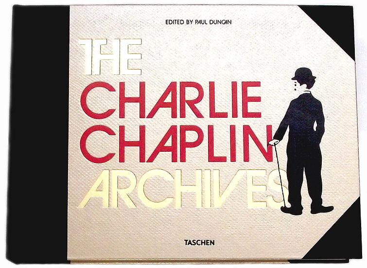 The Charlie Chaplin Archives Edited by Paul Johnson Numbered Limited Edition 201