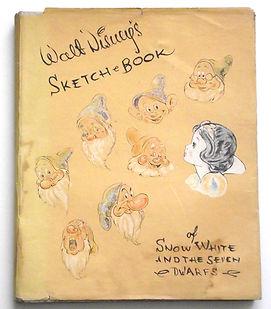 Wlat-Disney-Sketch-Book-of-Snow-White-19