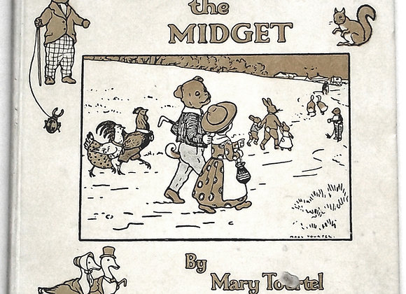 Mary Tourtel Margot the Midget & The Little Bear's Christmas First Edition 1922