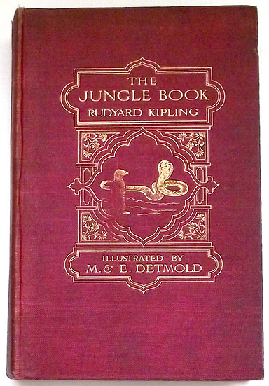 Rudyard Kipling The Jungle Book 1912