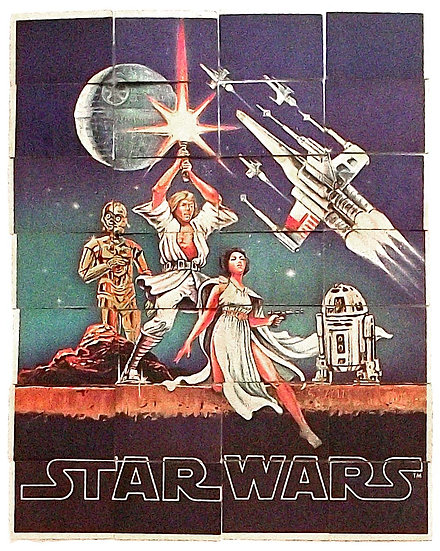 Star Wars Trade Cards by Topps (UK) First Series 1977