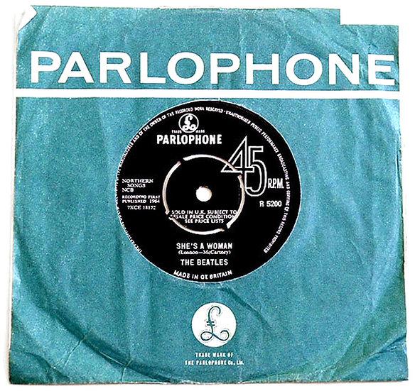 The Beatles I Feel Fine Single 1964