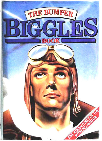 W.E. Johns Bumper Biggles Book First Edition 1983